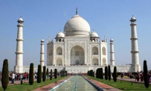 Taj Mahal. Agra. Delhi Jaipur, Golden triangle of India travel packages