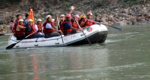 Rafting, Kayaking in Rishikesh, India